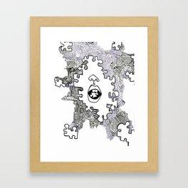 piece  Framed Art Print