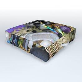 Jewelry Cluster 3 Outdoor Floor Cushion