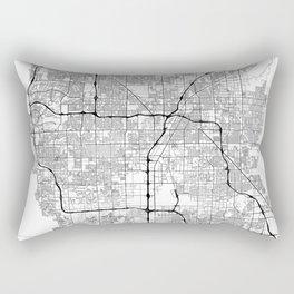 Minimal City Maps - Map Of Las Vegas, Nevada, United States Rectangular Pillow