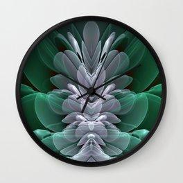 Sea Flower Wall Clock