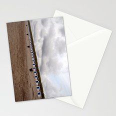 on the beach (Texel) Stationery Cards