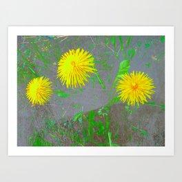FlowerPower Fantasy 4 Art Print