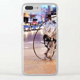 Performance Art on the Streets of Bucktown, Chicago 03 Clear iPhone Case