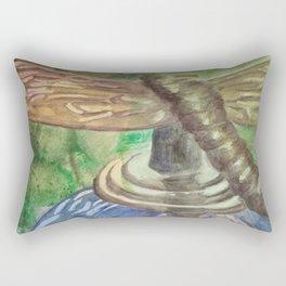 Garden Party Dragonfly Rectangular Pillow