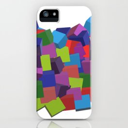 Cube Madness 2 iPhone Case