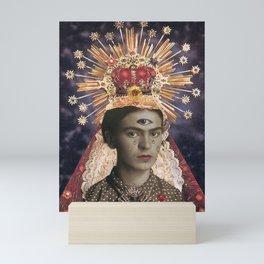 Saint Frida  Mini Art Print