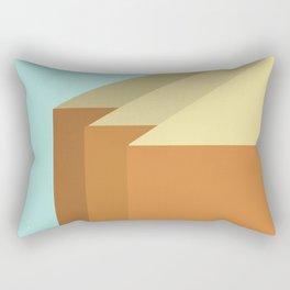 Row Houses #Society6 #decor #buyart Rectangular Pillow