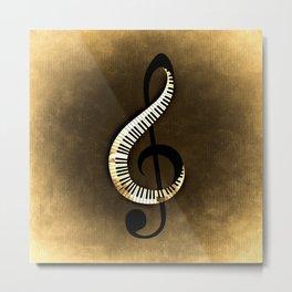 Beethoven  Piano Metal Print
