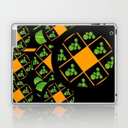Orange and Green Spaces 100 Laptop & iPad Skin