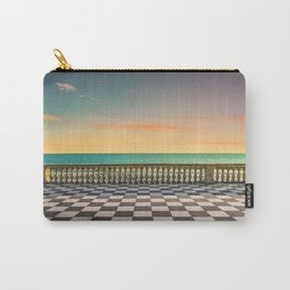 Mascagni Terrazza terrace at sunset. Livorno Tuscany Italy Carry-All Pouch