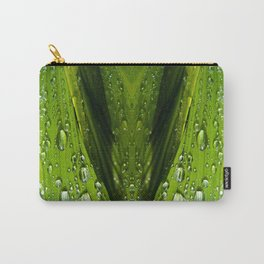 Floral Reflections in water Carry-All Pouch