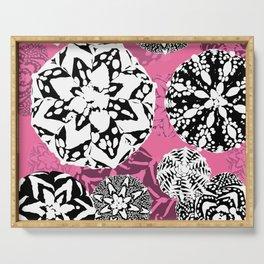 Cactus Art01_Astrophytum#2 Serving Tray