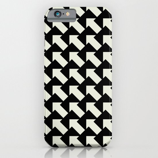 White Arrows iPhone & iPod Case