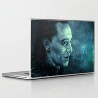loki Laptop & iPad Skins featuring Loki by Oput Studios