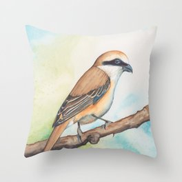 Shrike Throw Pillow