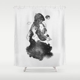 The feeling you gave me. Shower Curtain