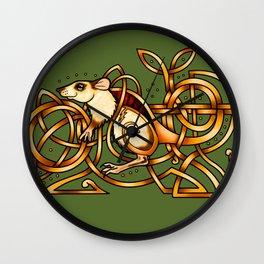 Celtic Rat Wall Clock