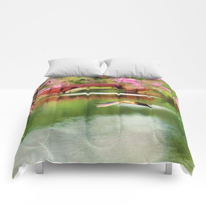 Flight of the Egret Comforters