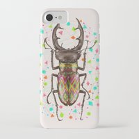 insect iPhone & iPod Cases featuring INSECT IV by dogooder