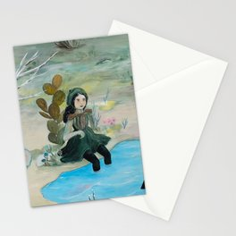 Cave Witch Stationery Cards