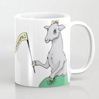 capricorn Mugs featuring Capricorn by Dan Paul Roberts