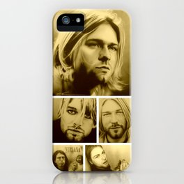 'Kurt Mosaic' iPhone Case