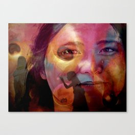 The TEACHER Canvas Print