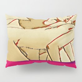 Oral sex Pillow Sham