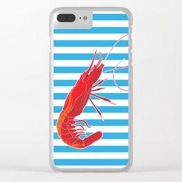 sailor prawn Clear iPhone Case