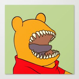 Winnie the Tooth Canvas Print