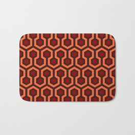 The Overlook Hotel Carpet Pattern Bath Mat