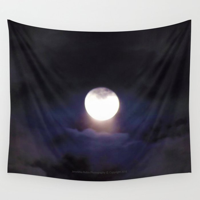 The Moon (Energize Me) - Jeronimo Rubio Photography 2016 Wall Tapestry