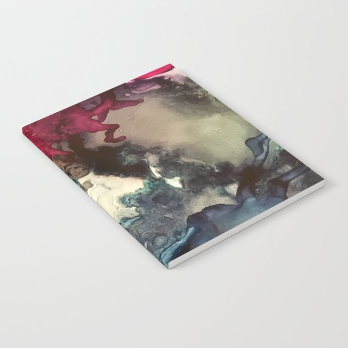 Dark Inks - Alcohol Ink Painting Notebook