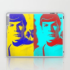 Science Officer Spock (Andy Warhol Remix) Laptop & iPad Skin