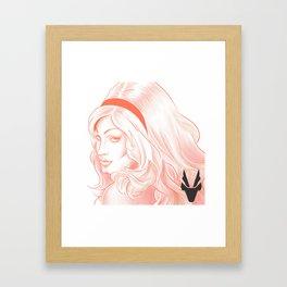 My Red Queen! Jinkx Monsoon Framed Art Print