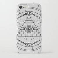 illuminati iPhone & iPod Cases featuring Illuminati by Joao Paulo Cruz