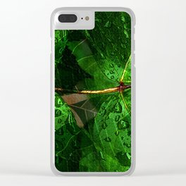 Leaves V8WL Clear iPhone Case