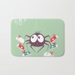 Halloween Spider Bath Mat