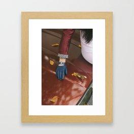 Carbomb III Framed Art Print