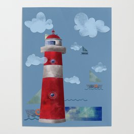 L for Lighthouse Poster