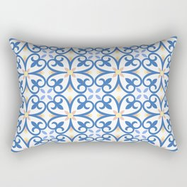 Floor Tile 8 Rectangular Pillow