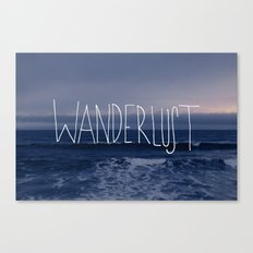 Wanderlust Ocean Canvas Print