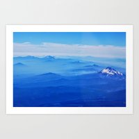 Lone Mountain Art Print