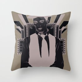 Presenting BUSTER KEATON Throw Pillow