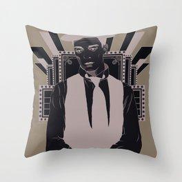 Presenting BUSTER KEATON Throw Pillow