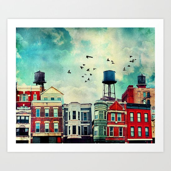 A Noble Avenue Art Print