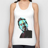 mike wrobel Tank Tops featuring Mike Shinoda by Lyre Aloise