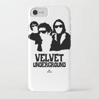 velvet underground iPhone & iPod Cases featuring VELVET UNDERGROUND W by zzglam