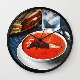 Mmm Mmm Good Wall Clock