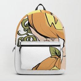 Patchwork Pumpkin Backpack
